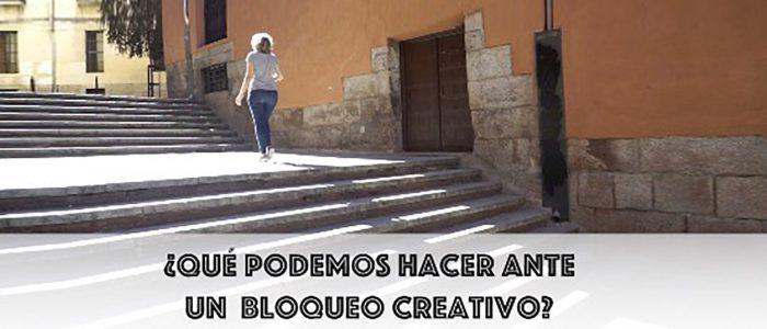 ¿Qué podemos hacer ante un bloqueo creativo?